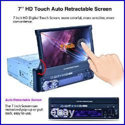 7 Touch Car GPS Navigation Bluetooth AM/FM stereo Radio Steering Wheel Control