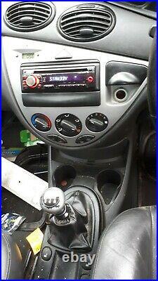 Ford Focus Mk1 Facelift Black 2 Litre Blacktop Zetec Engine Breaking Spares 2.0