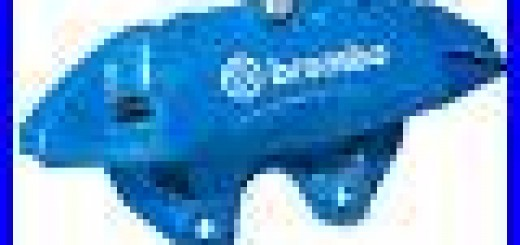 OEM-NEW-16-18-Ford-Focus-RS-Front-Brake-Disc-Caliper-RH-Passenger-BREMBO-Blue-01-kz