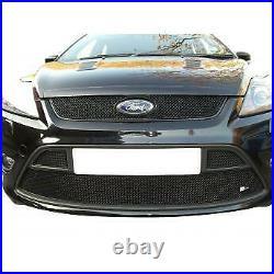 Zunsport Ford Focus MK 2.5 ST Full Front with Lower Grille Set Black (READ DESC)